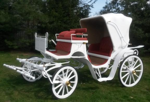 Kutsche für die Hochzeit