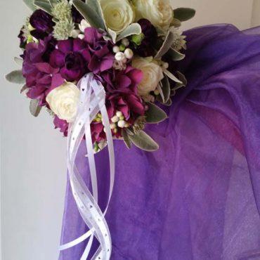 hochzeitsstrauss-violett